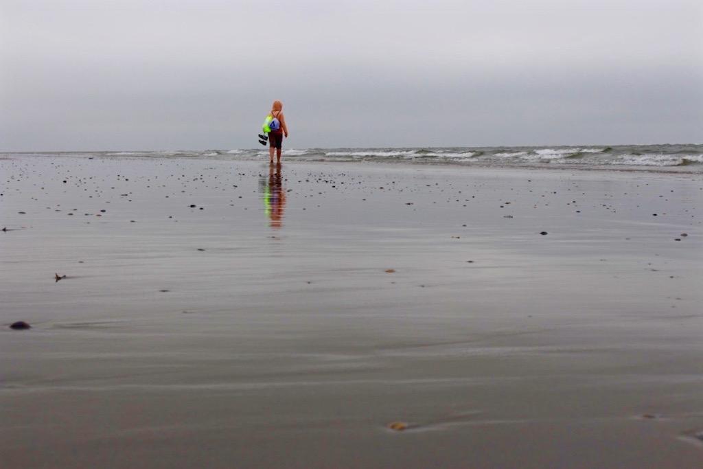 Am Strand auf Juist.