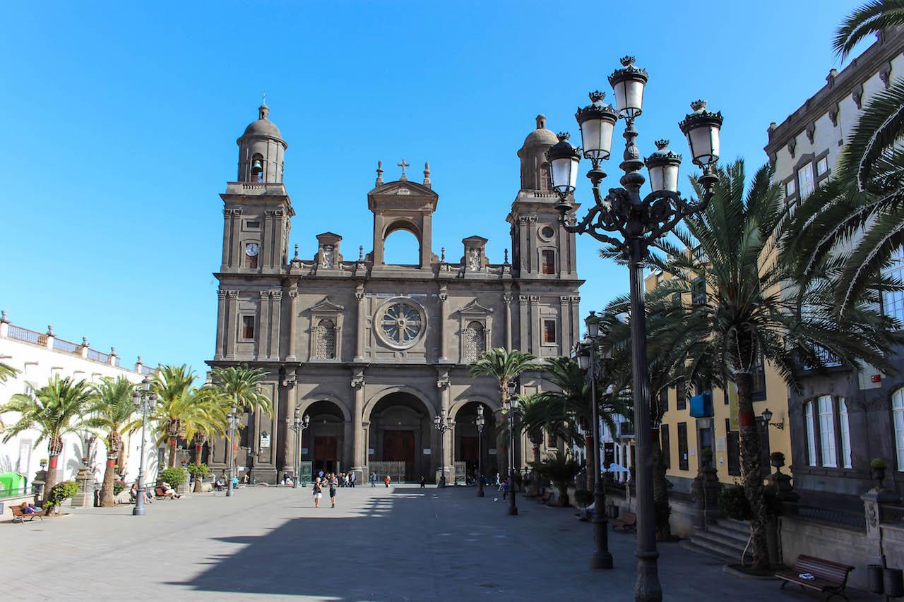 Unterwegs in Las Palmas auf Gran Canaria.