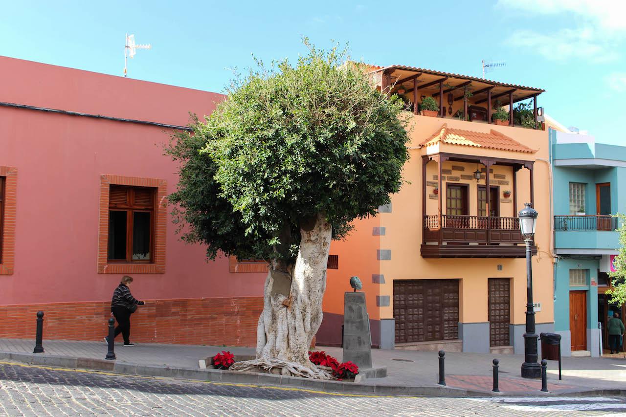Die Altstadt von Santa María de Guía.
