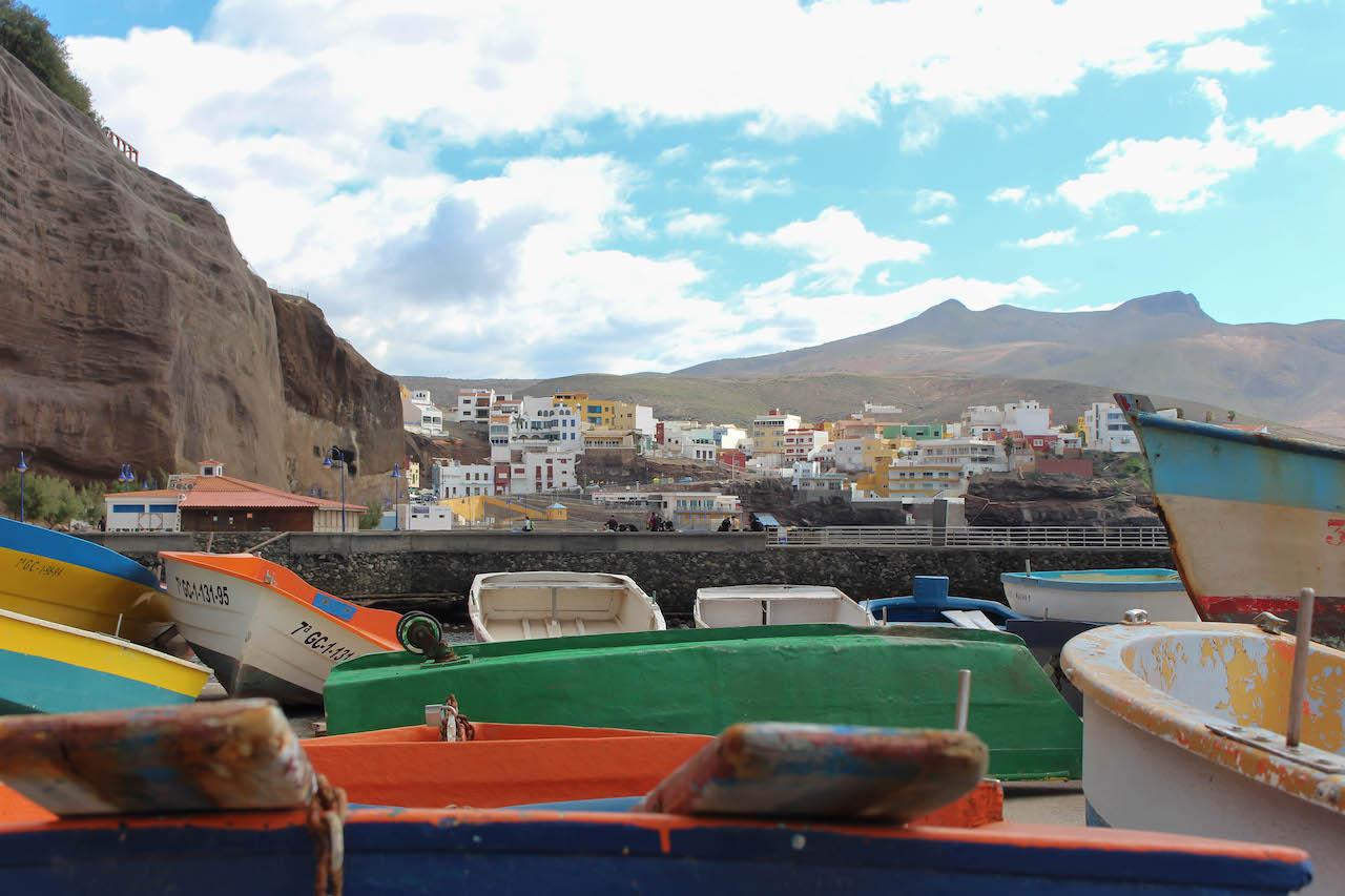 Sardina del Norte ist ein hübsches Fischerdorf.