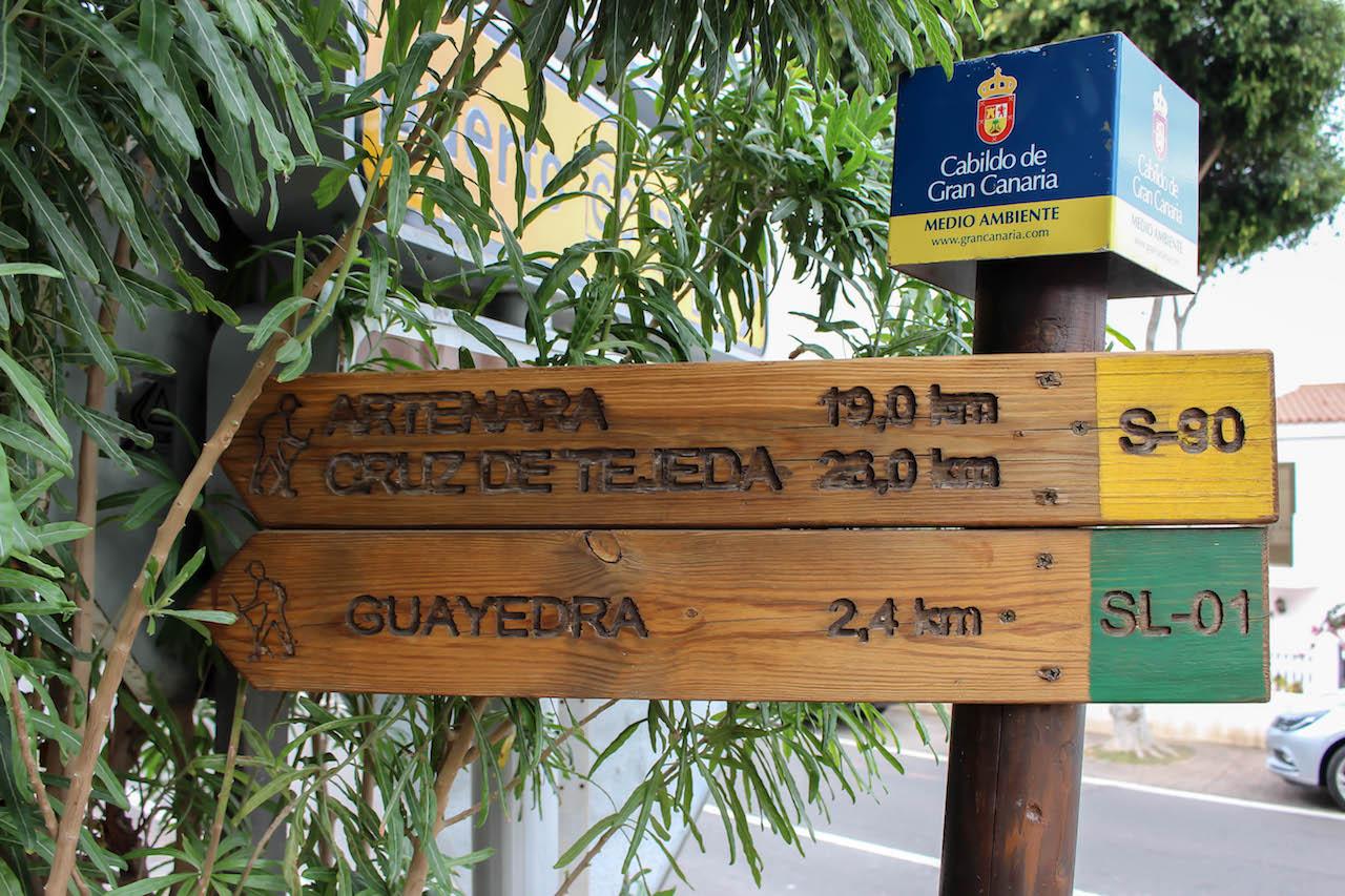 Wandern auf Gran Canaria.