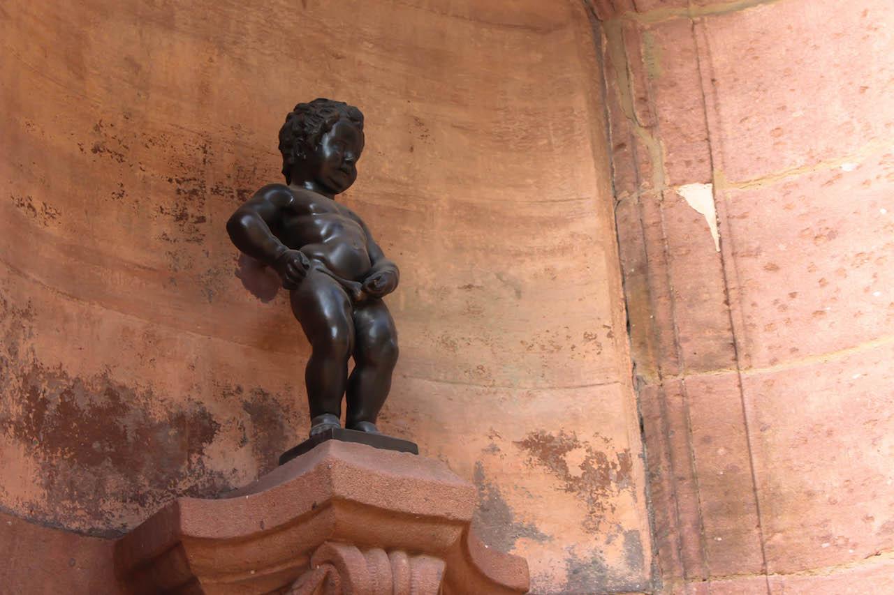 Auch den Manneken Pis gibts in Colmar!