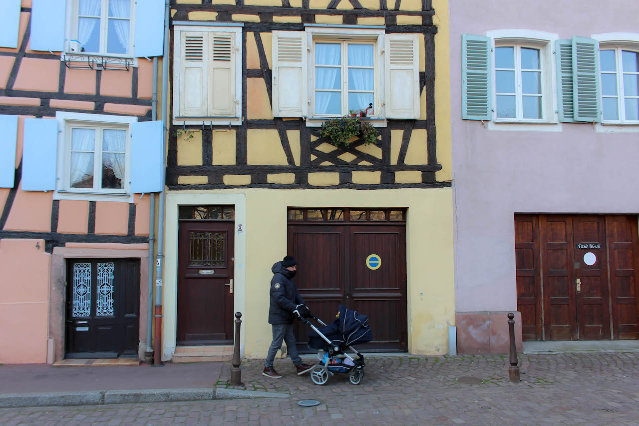 Unterwegs in Colmar.