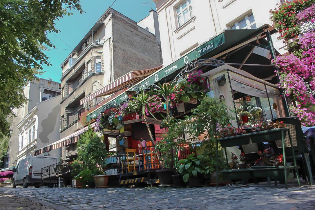 Skadarlija, das Montmartre Belgrads.