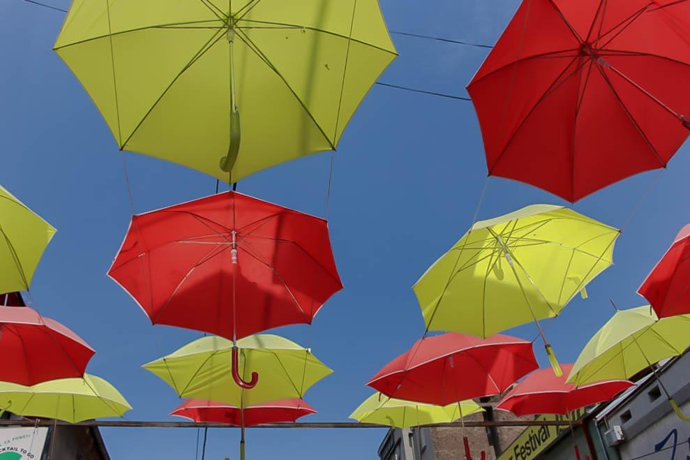 Trendy Quartier in serbiens Hauptstadt.