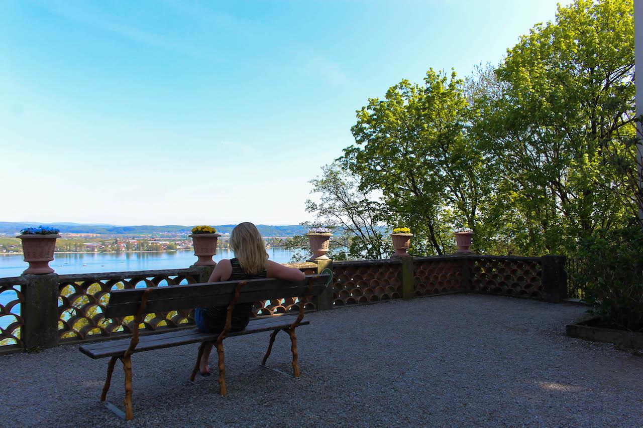 Gemütlicher Start ins Wochenende am Bodensee.