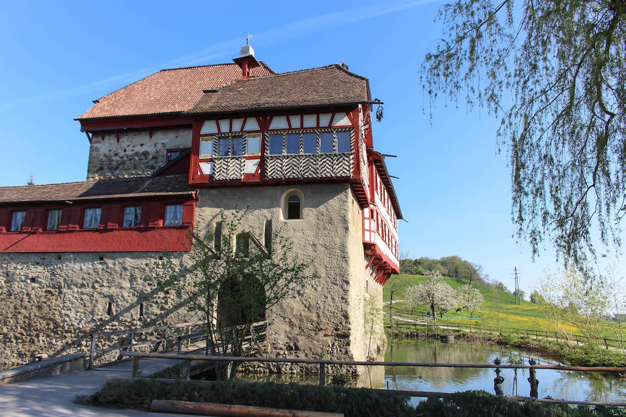 Das Wasserschloss in Hagenwil.