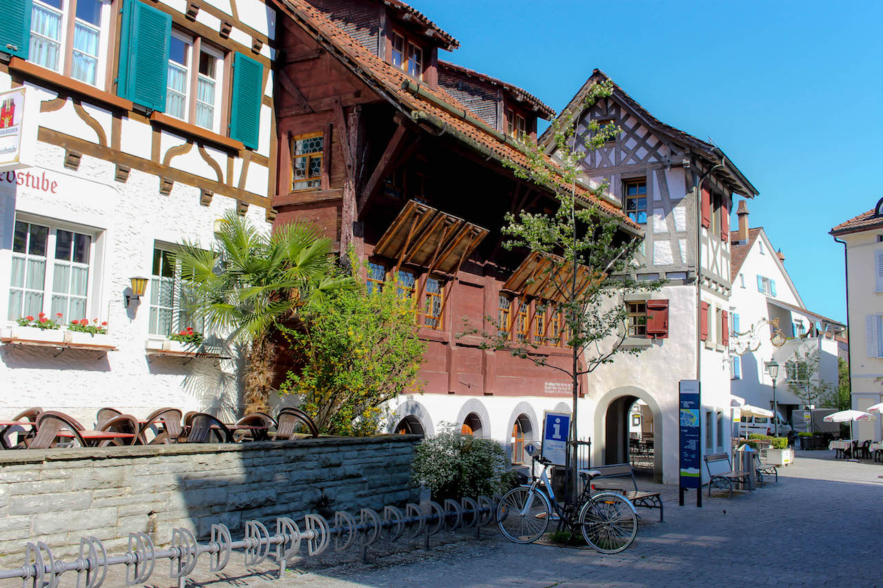 Die historische Altstadt von Arbon.