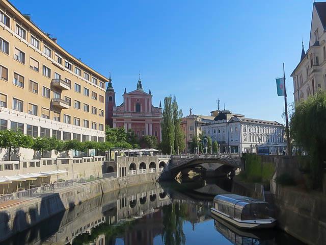 Idyllisches Ljubljana.