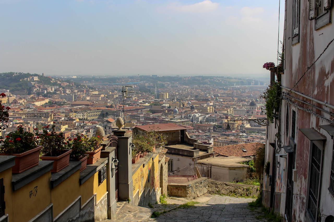 Blick über Neapel.