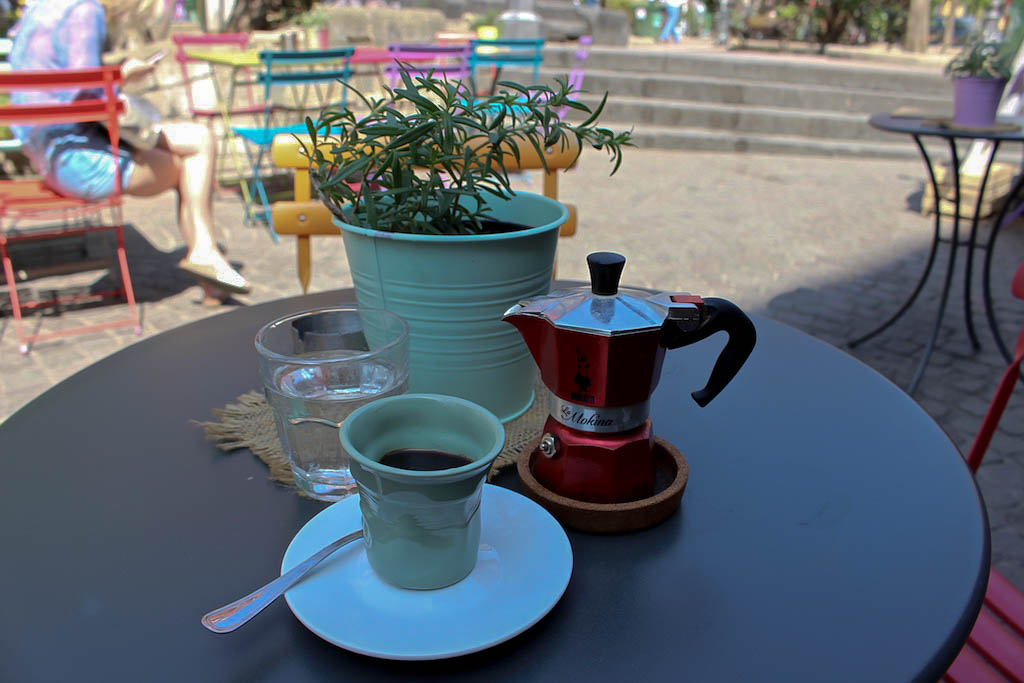 Gehört auch zu Italien: Richtig guter Kaffee.