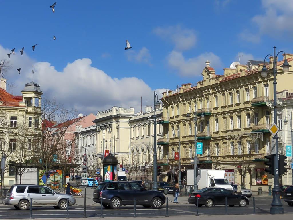 Vilnius, Hauptstadt von Litauen.
