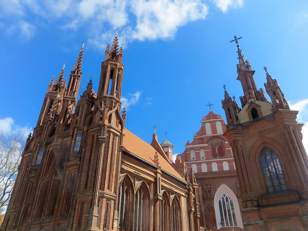 Kirche in Vilnius.
