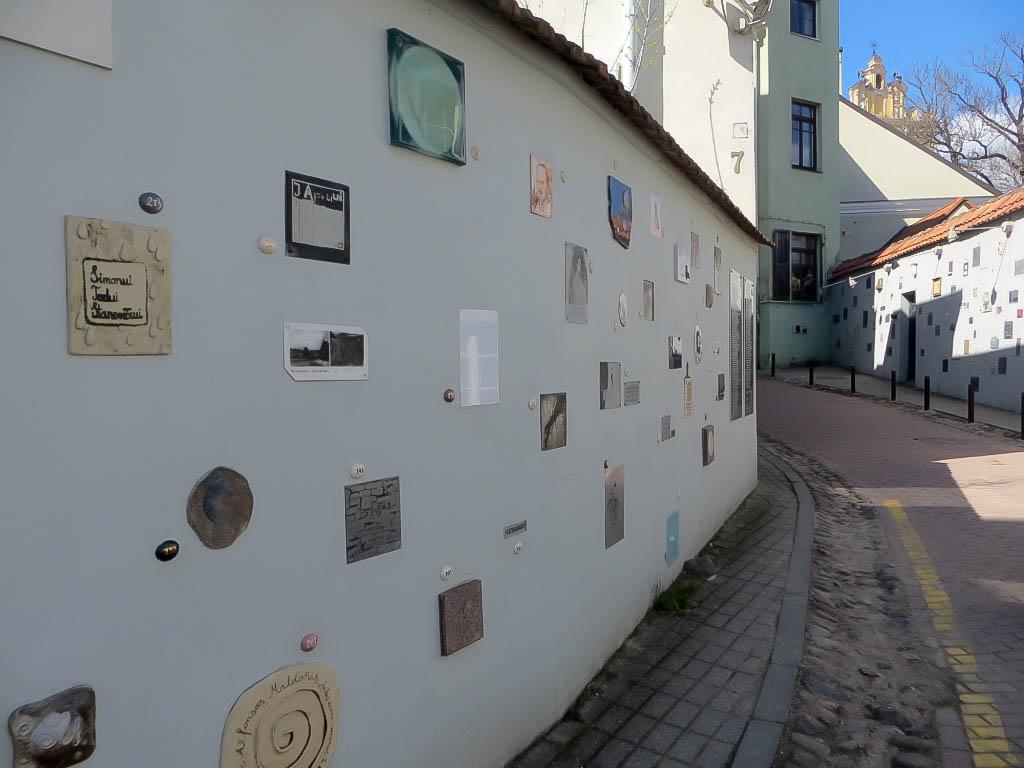 In der Altstadt von Vilnius.
