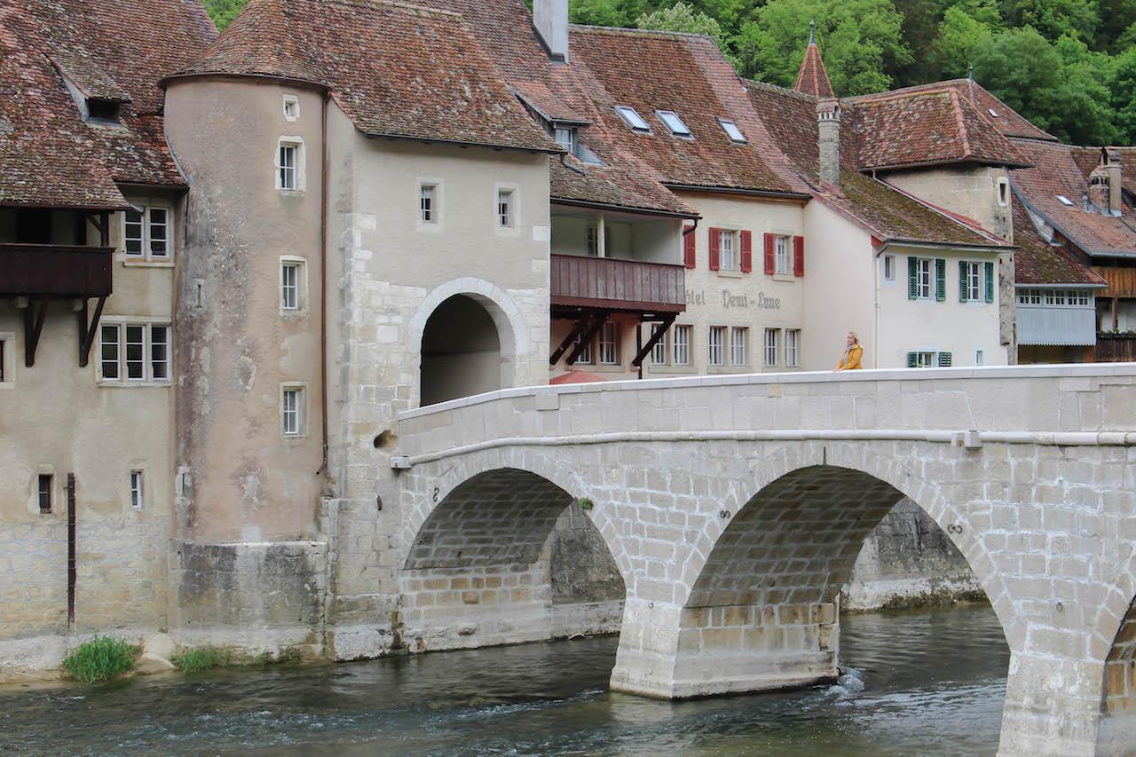 Historisches St-Ursanne.