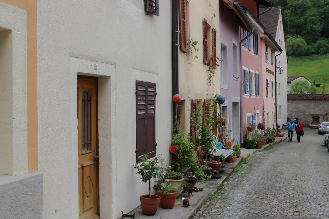 St-Ursanne im Kanton Jura.