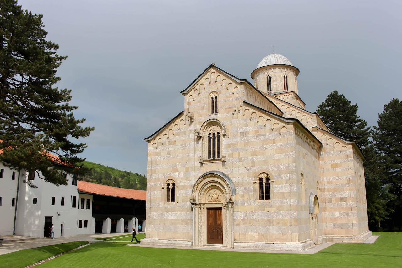 Das Kloster Visoki Decani.