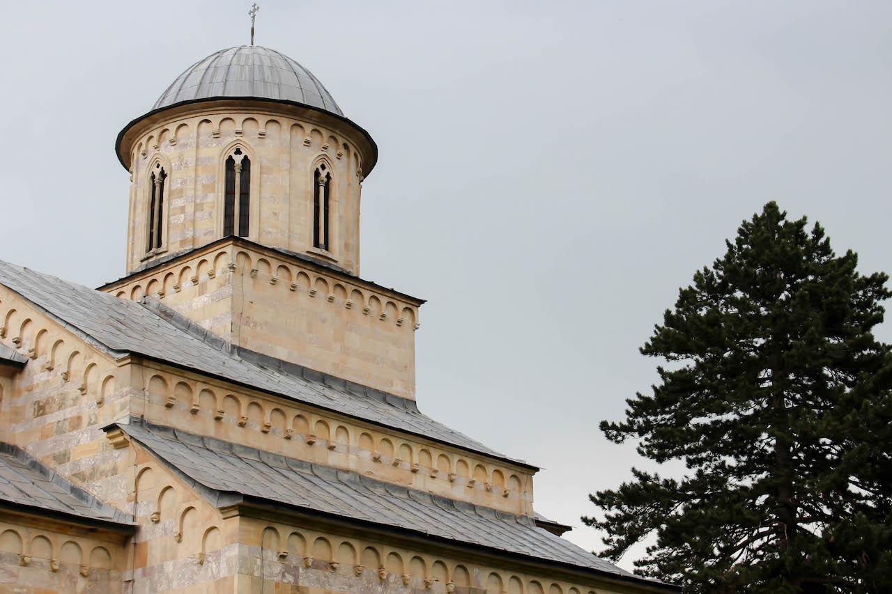 Visoki Decani - Teil des UNESCO Weltkulturerbes.