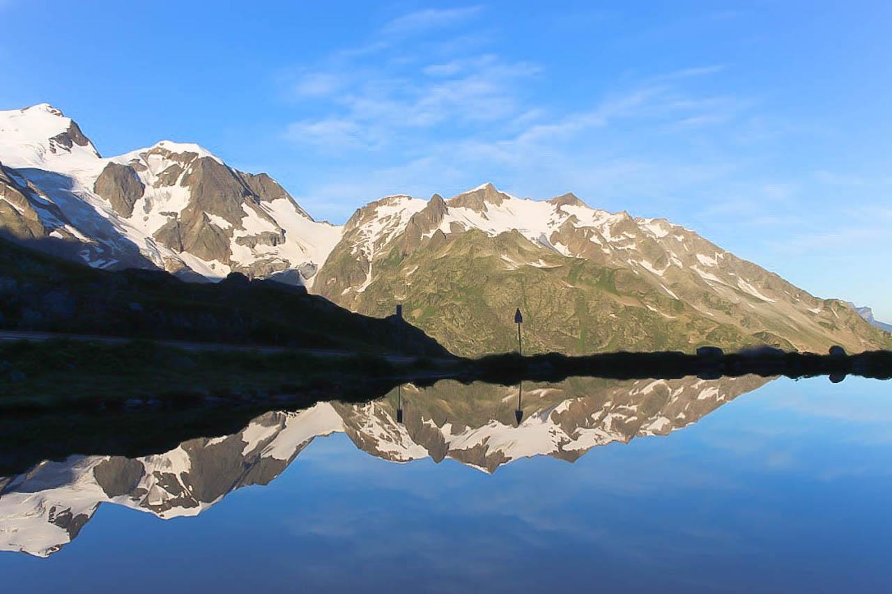 So sehen Passfahrten in der Schweiz aus.