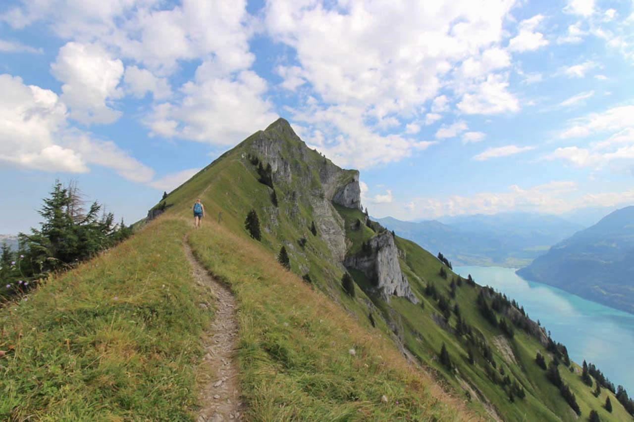 Wandern in der Schweiz.