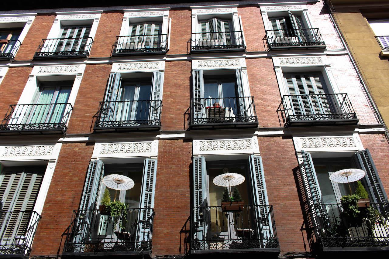 Madrid, richtig spanisch eben.