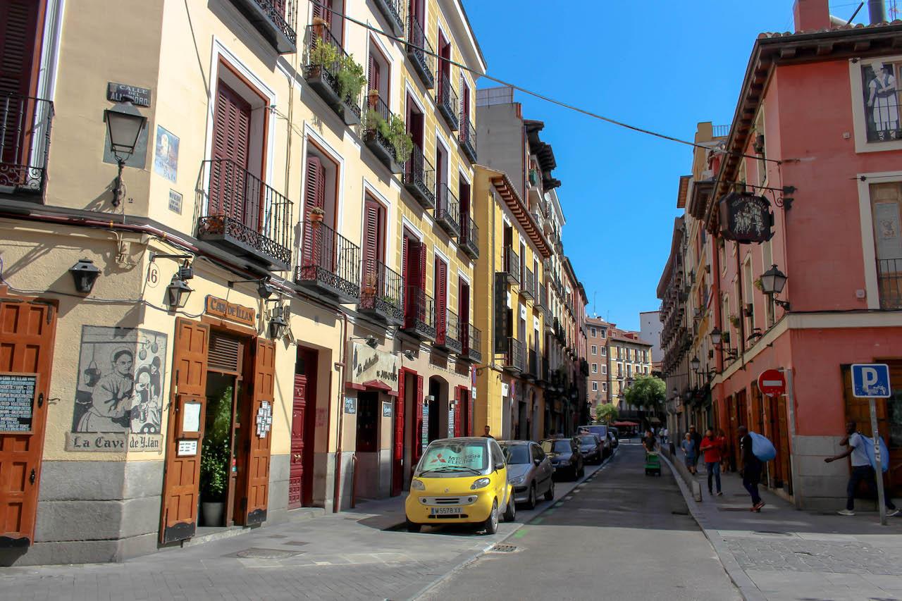 Die Strassen von La Latina.