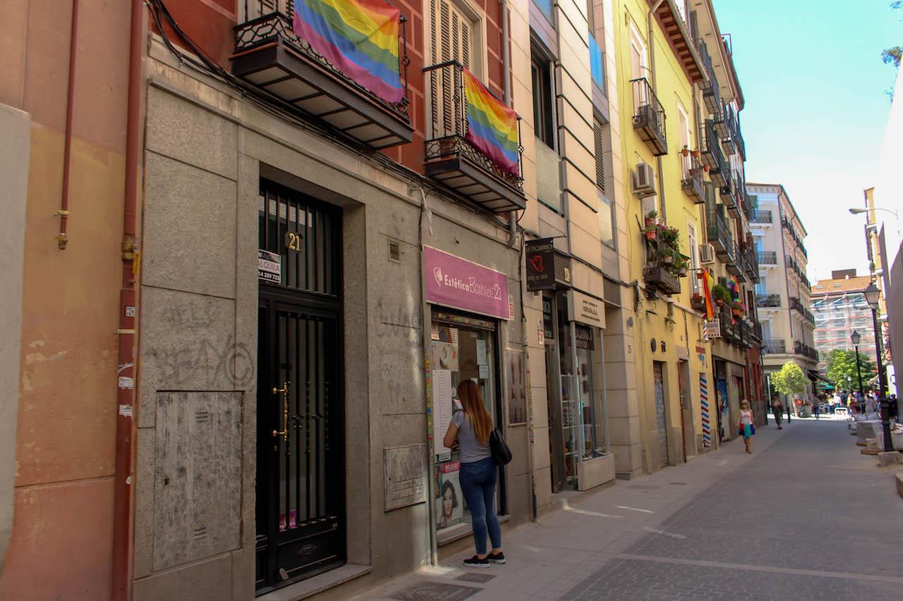Chueca, ein sympathisches Madrider Stadtviertel.
