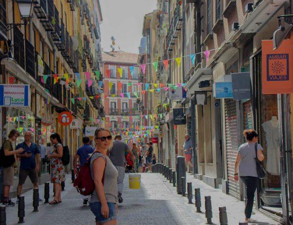 Rapunzel in Madrid.