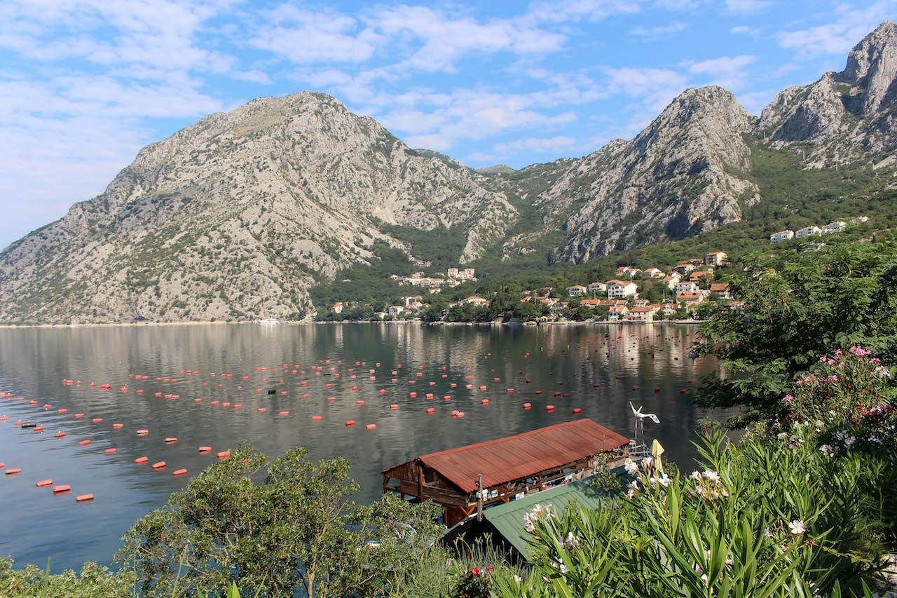 An der Bucht von Kotor.