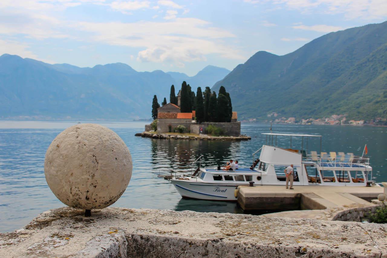 In der Bucht von Kotor.