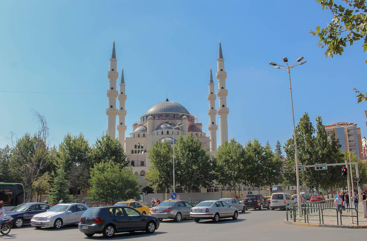 Moschee in Tirana.