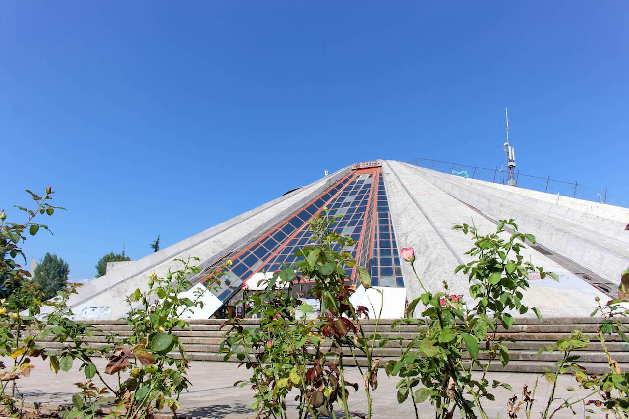 Die Pyramide von Tirana.