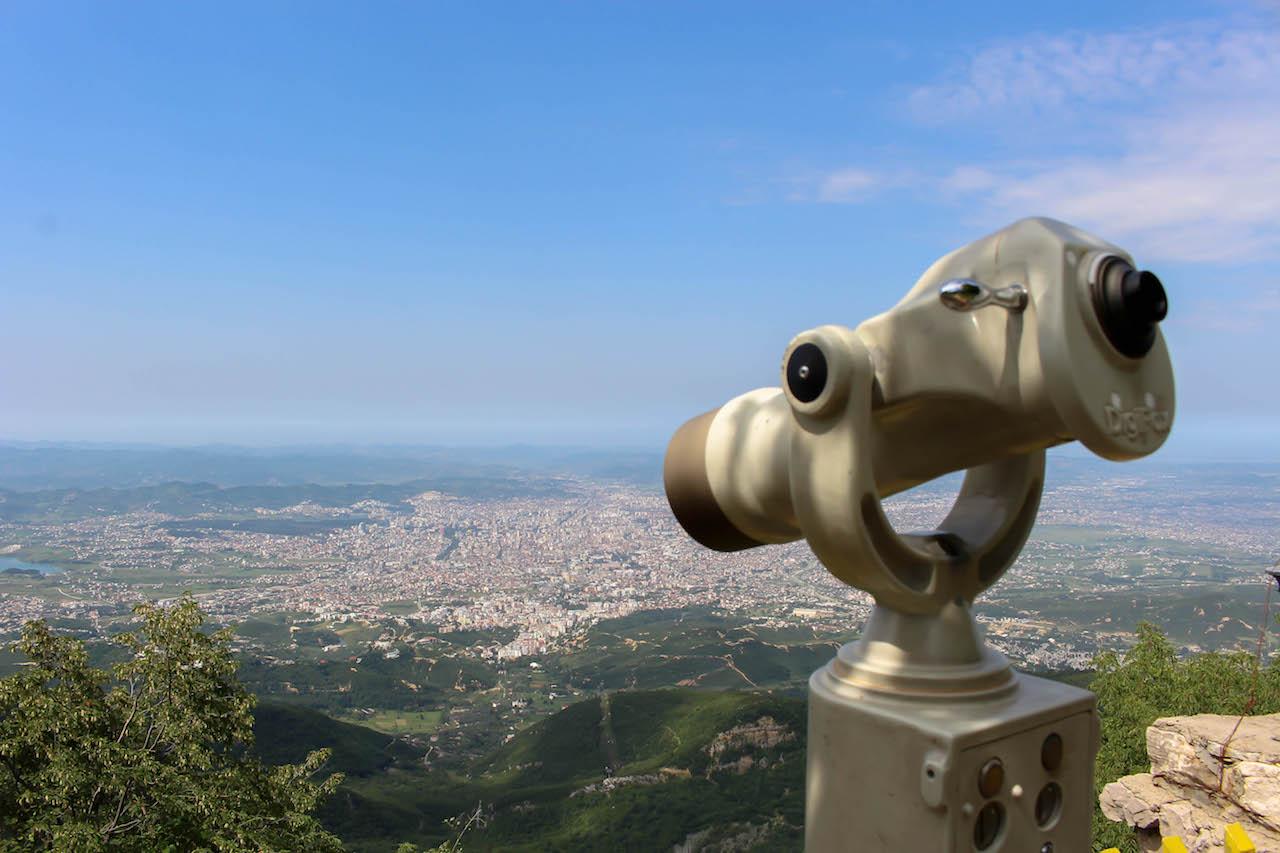 Tirana von oben.