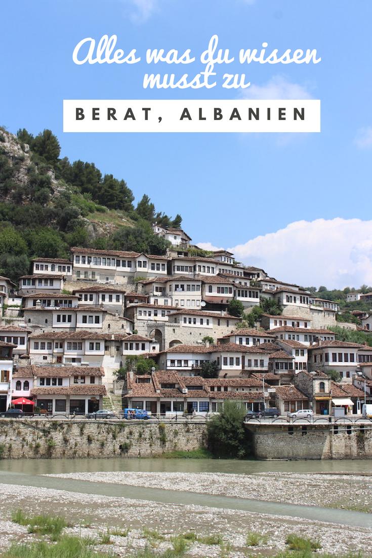Berat, Albaniens Stadt der tausend Fenster
