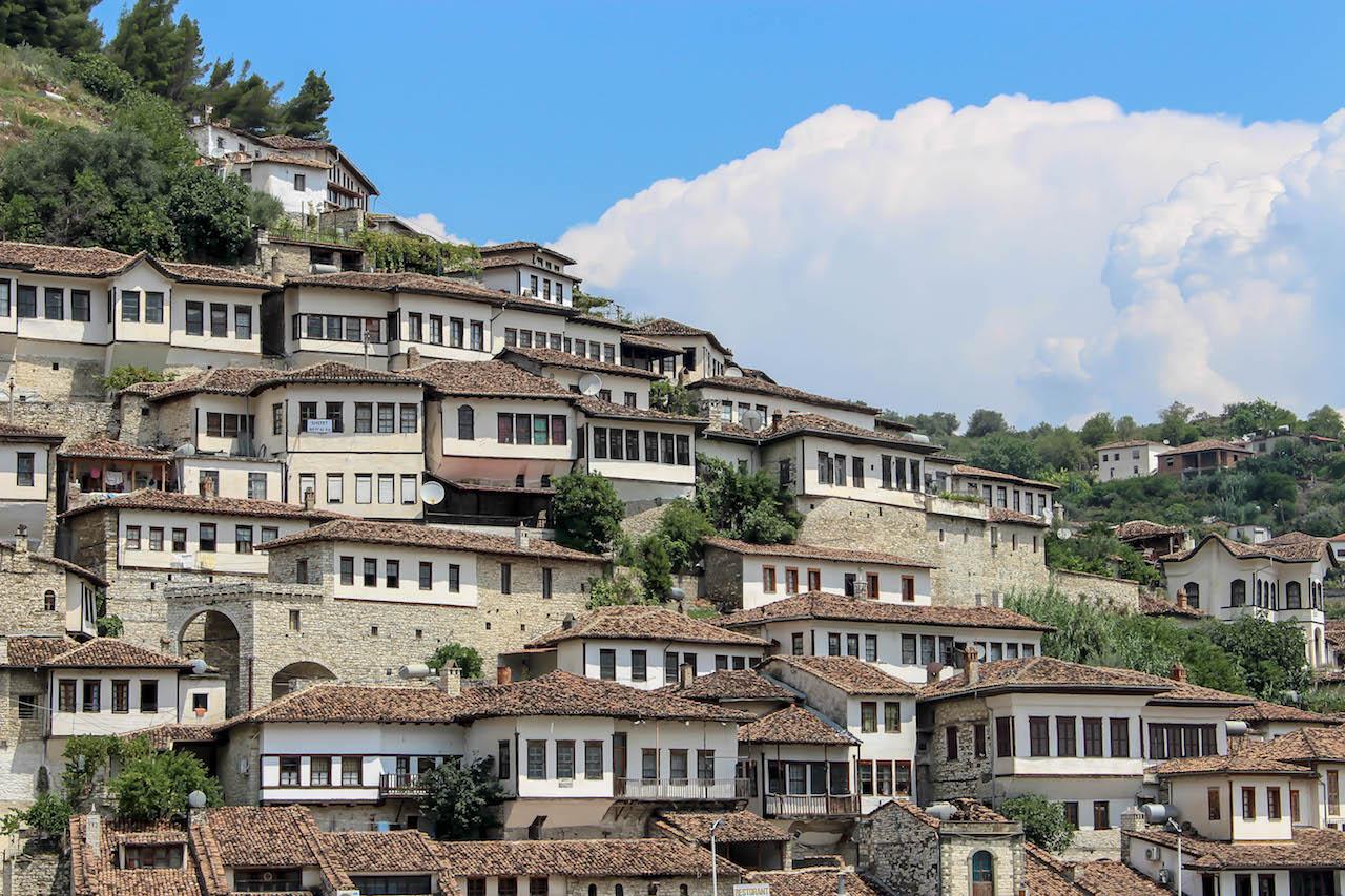 Berat, Albanien.
