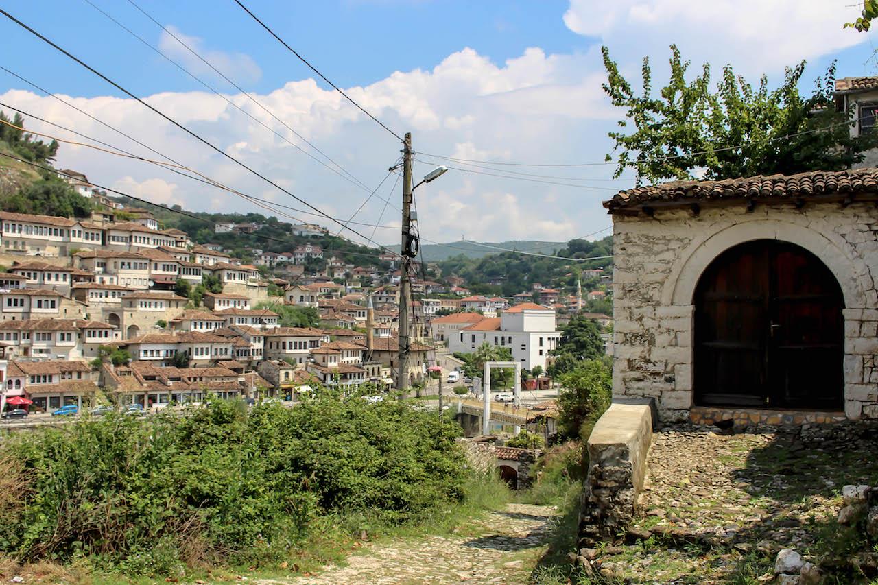 Spaziergang durch Gorica in Berat.
