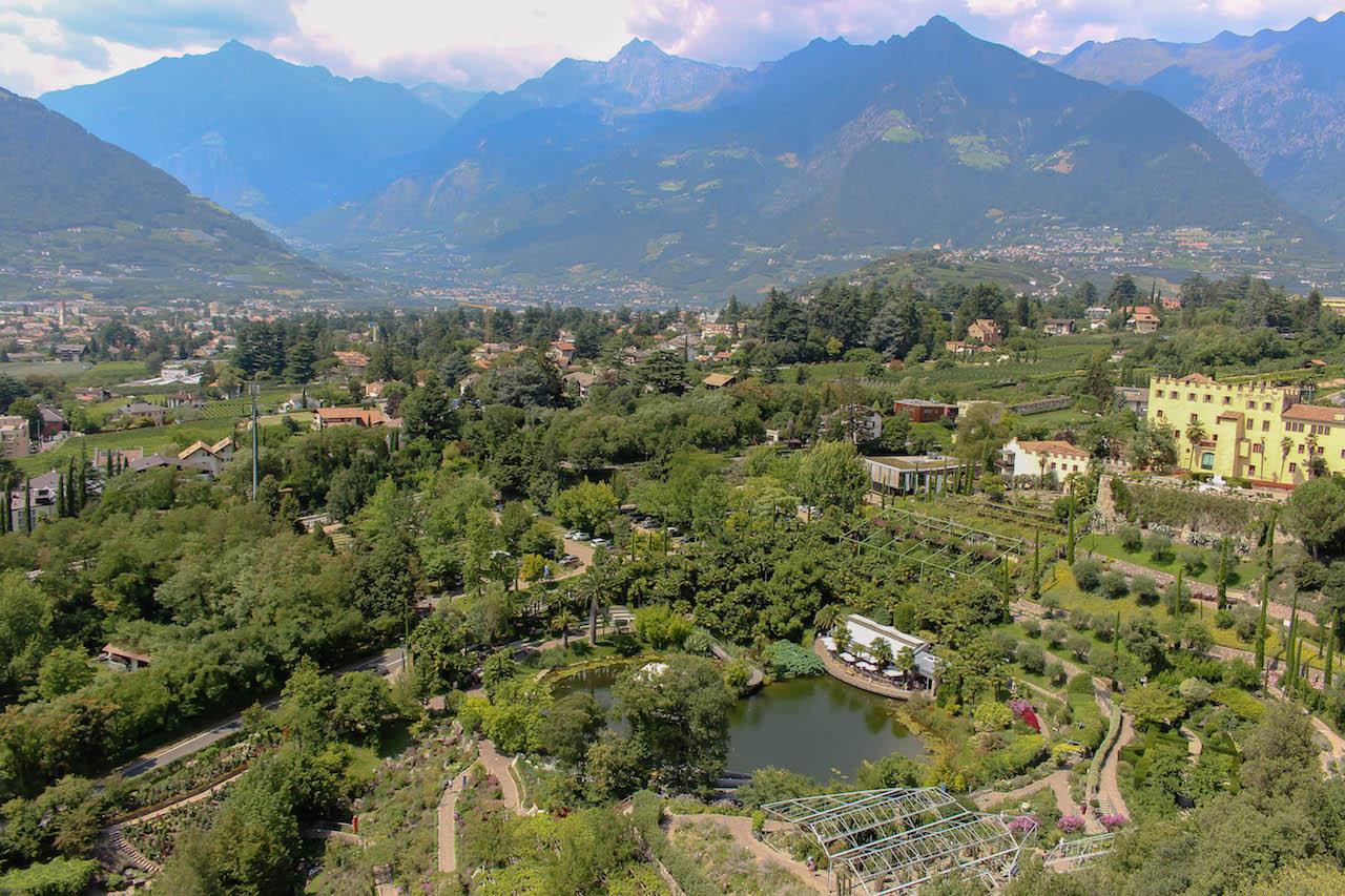 Die Gärten von Schloss Trauttmansdorff muss man gesehen haben!