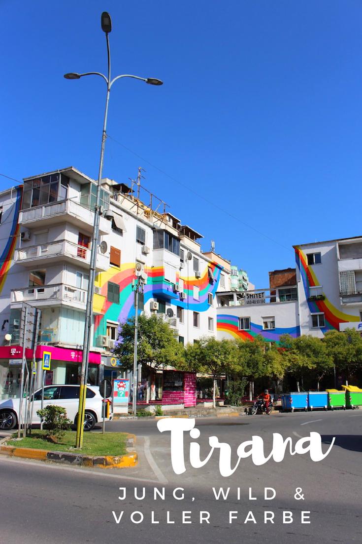 Tirana: Jung, wild und voller Farbe