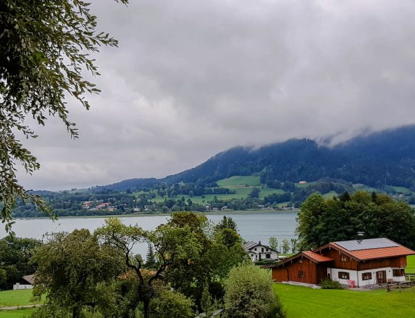 Regenwetter am Tegernsee.