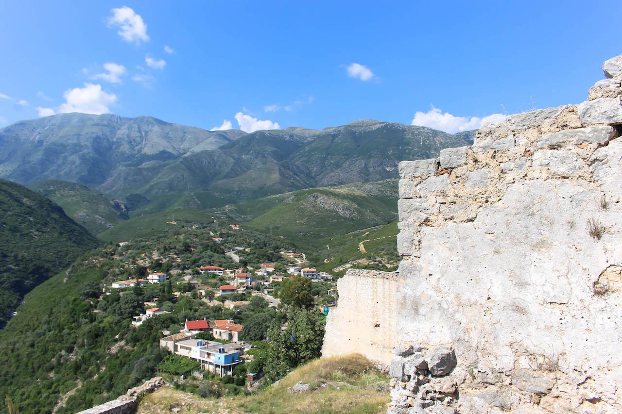 Himara, Albanien.