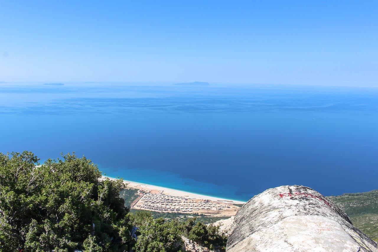 Blick auf das Ionische Meer.