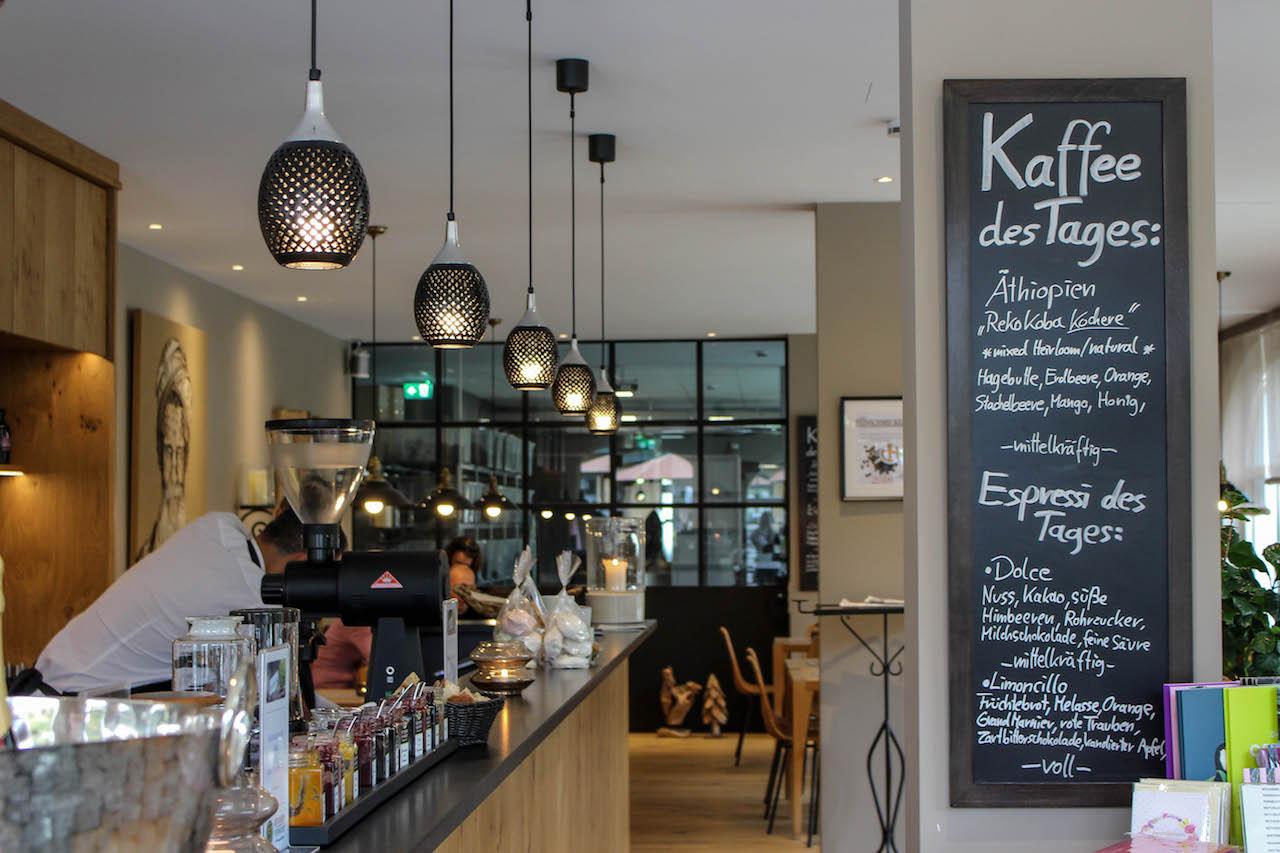 Die erste Kaffeerösterei am Tegernsee.