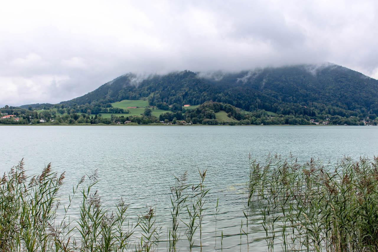 Der Tegernsee im Süden Deutschlands.