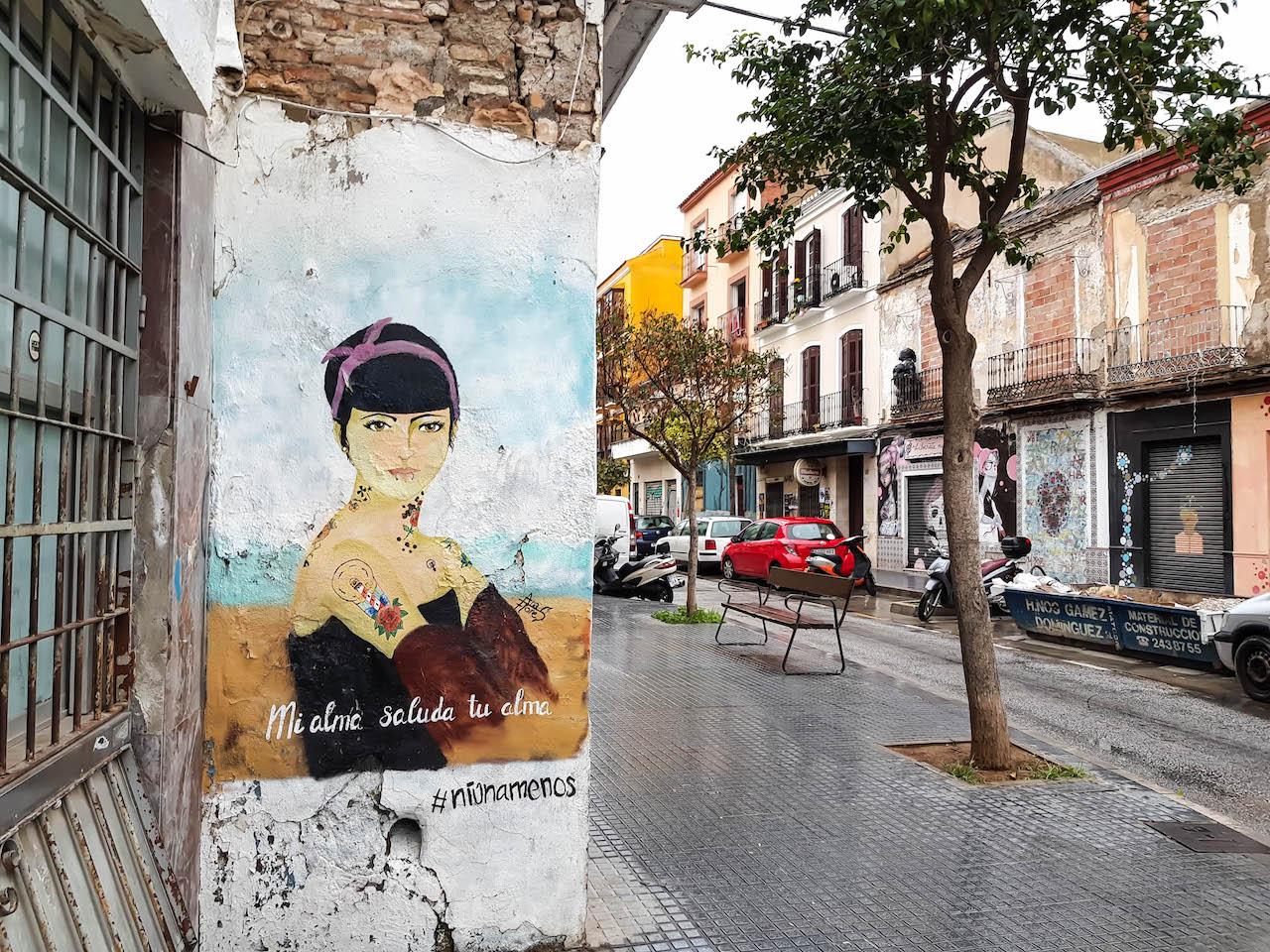 Streetart in Malaga