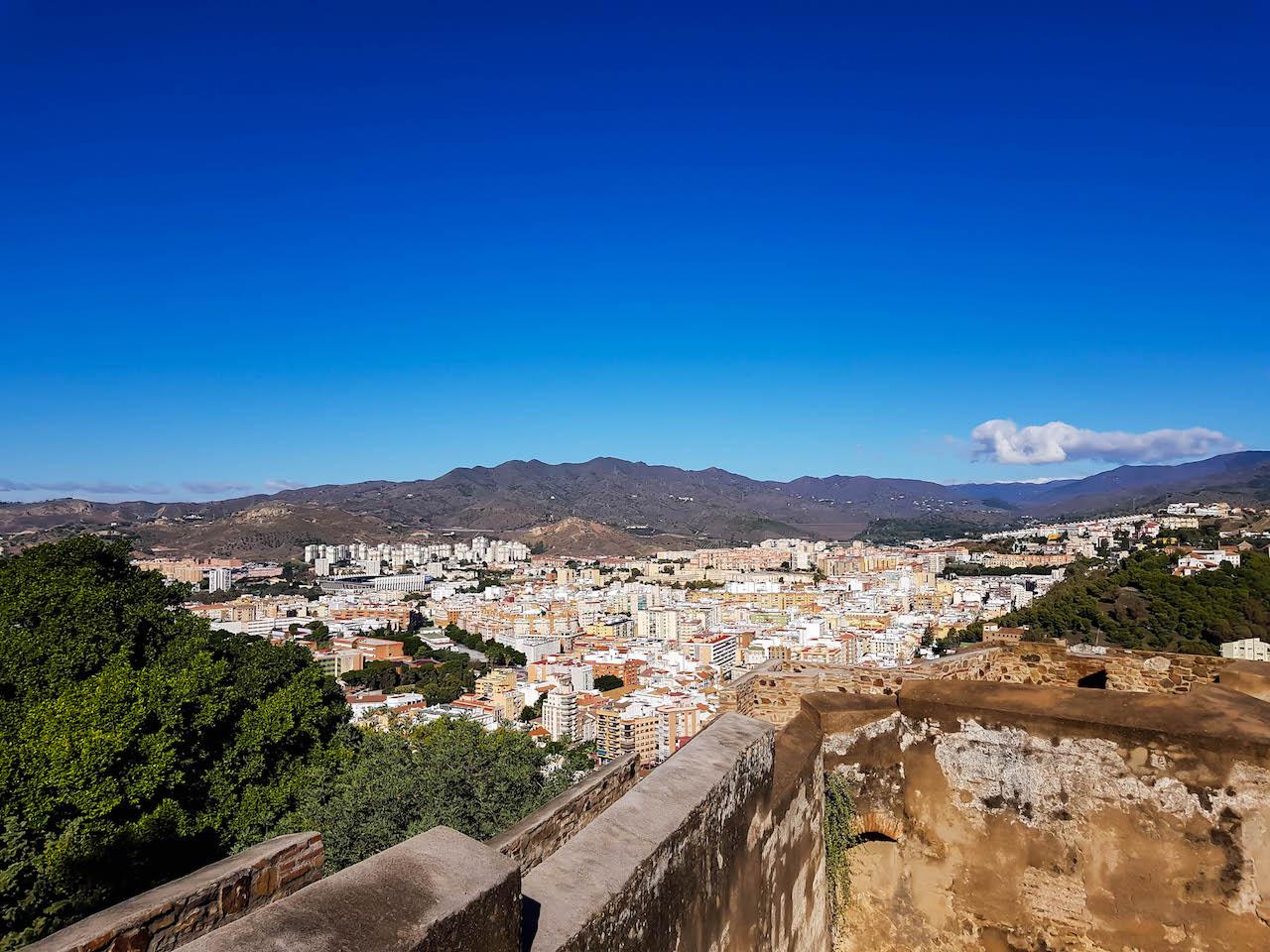 Aussicht von der Alcazaba.
