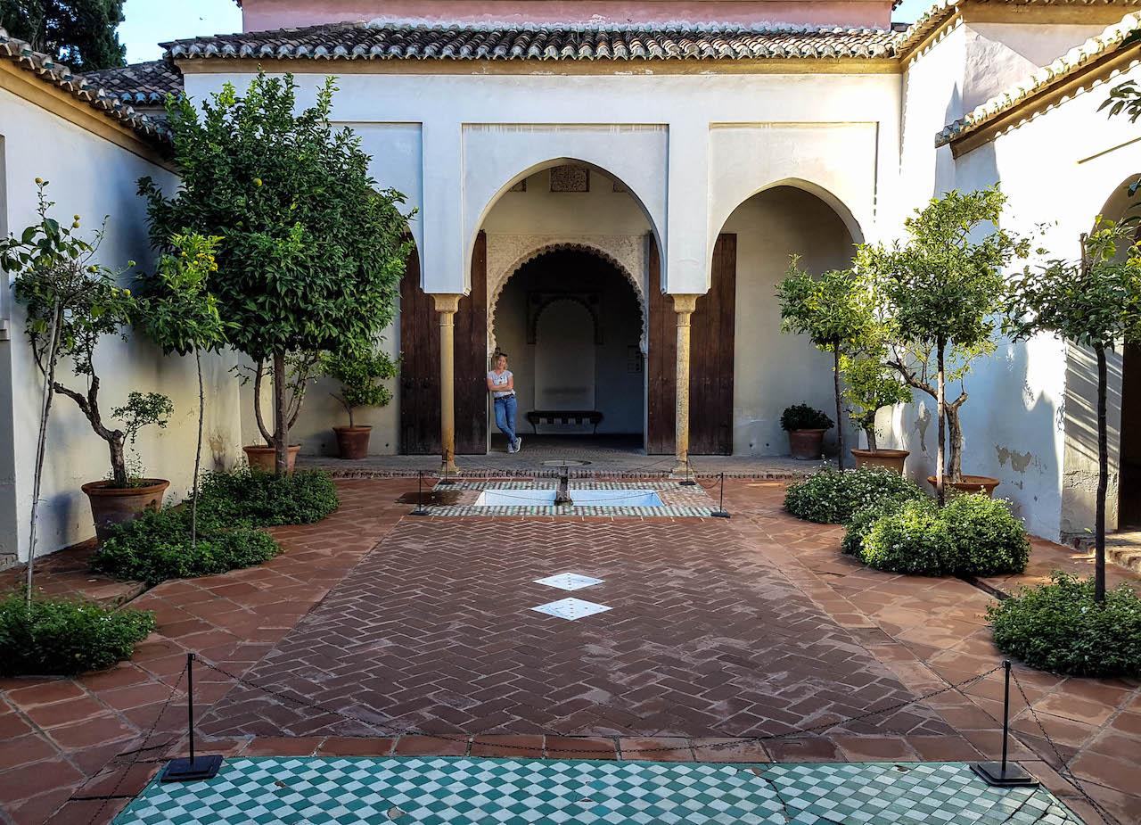 Innenhof der Alcazaba.