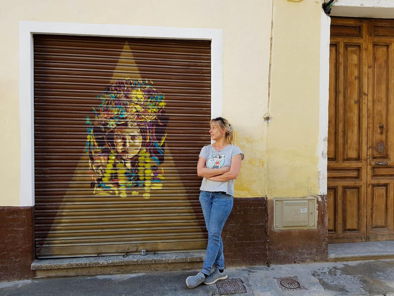 Streetart in Malaga.