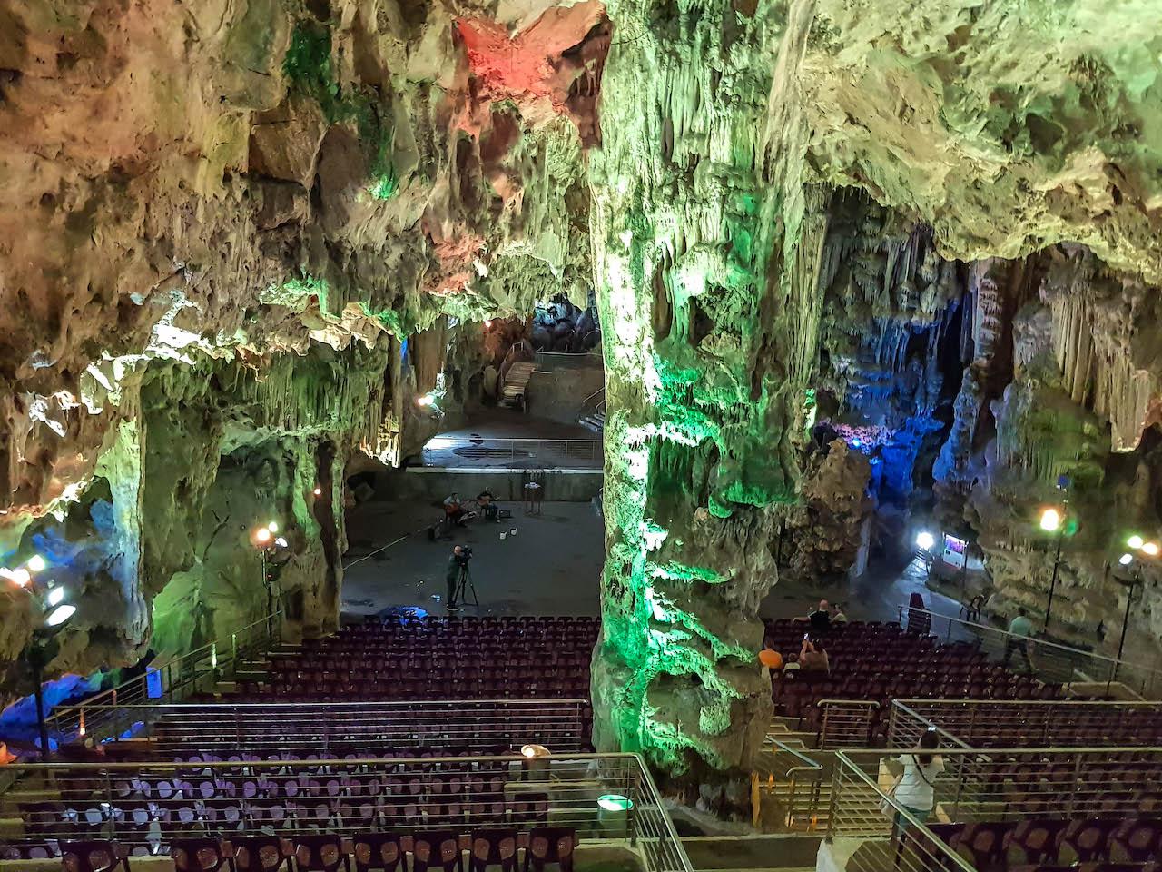 Der St. Michaels Cave in Gibraltar.