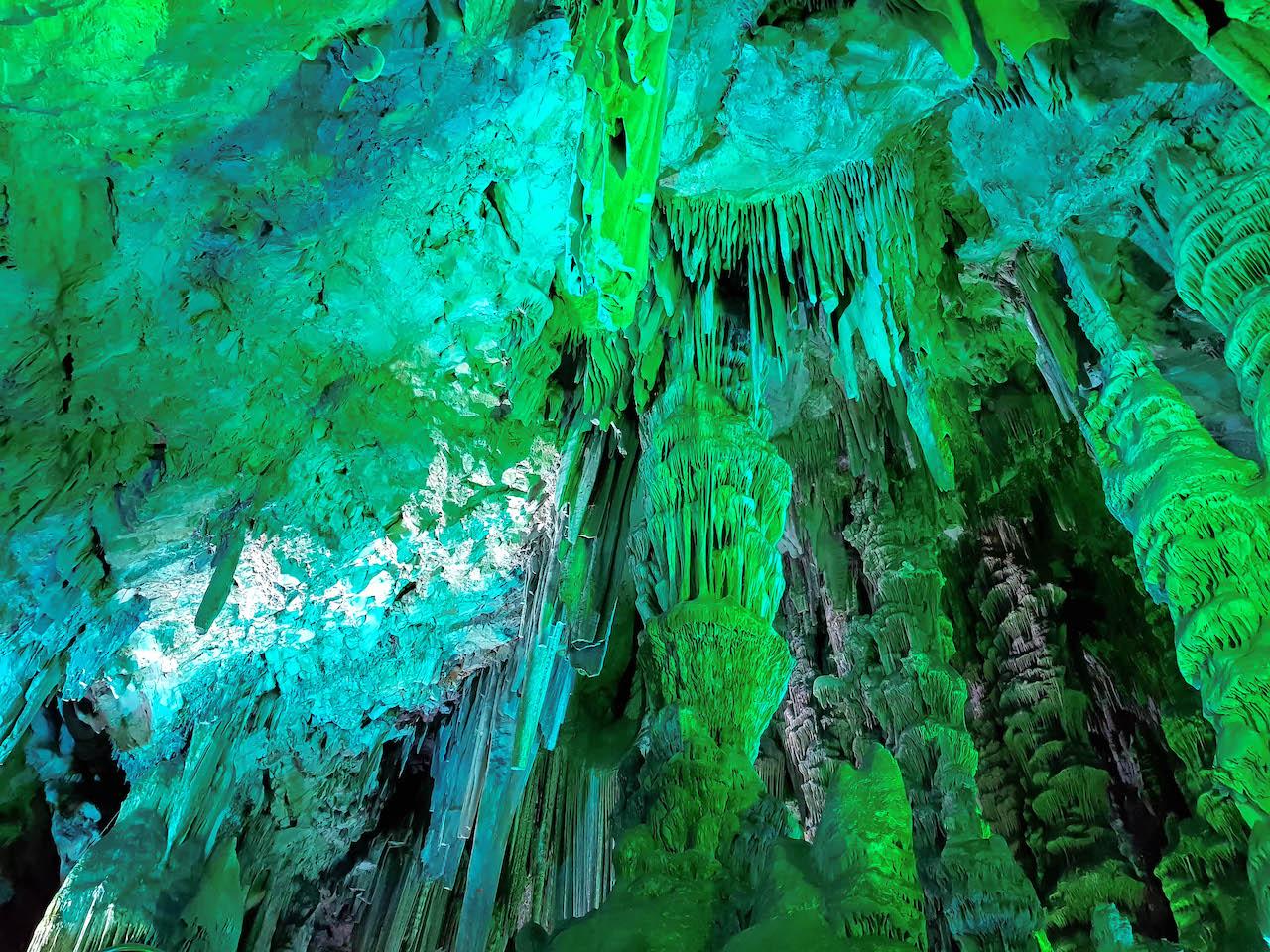 Tropfsteinhöhle in Gibraltar.
