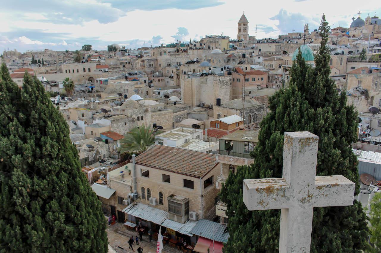 Einblicke in Jerusalems Altstadt.